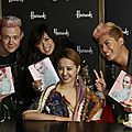 Jolin holds an album signing in London for MUSE in <b>Harrods</b>