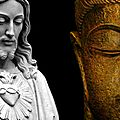 Chrétienne dans les pas du bouddha: vivre le dialogue interreligieux