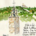 Cucugnan campanile