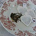 sachets de thé st valentin