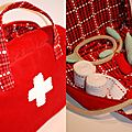 Petite valisette malette de docteur