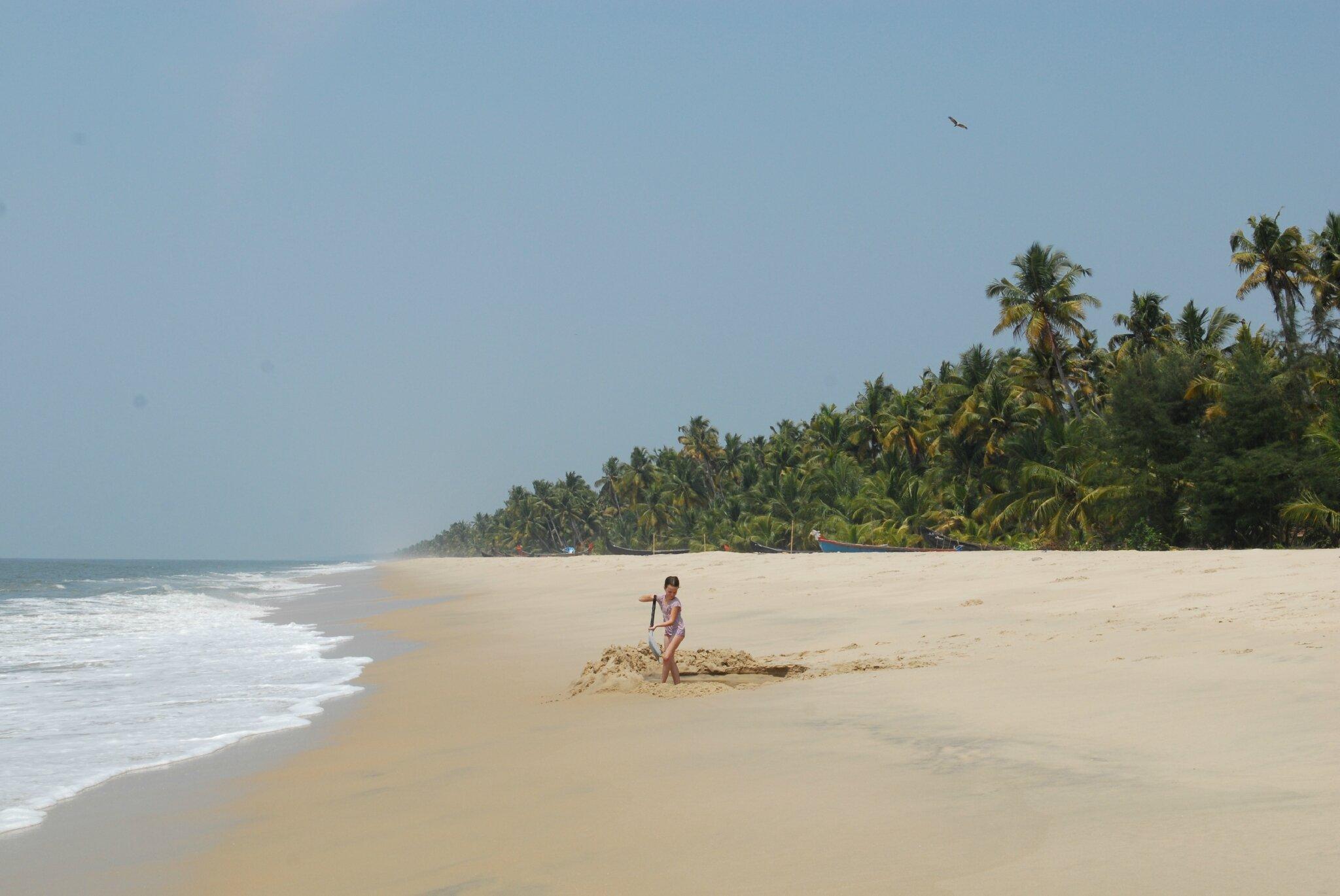 plage sud fort Cochin