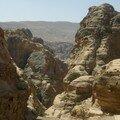 Petra, montee vers le monastere