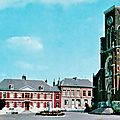 FOURMIES - L'<b>Eglise</b> <b>Saint</b> <b>Pierre</b> et la Mairie
