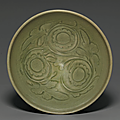 A carved Yaozhou '<b>Chrysanthemum</b>' <b>bowl</b>, Northern Song-Jin dynasty, 12th-13th century