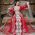 <b>Caftan</b> 2014 | robe de <b>mariée</b> rouge unique