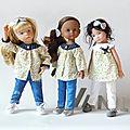 Le patron n°3 pour les poupées 32-33cm