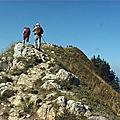 Pointe de la galoppaz 1640 m du lindar - bauges