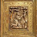 Cinq panneaux en <b>albâtre</b> par Tobias Tissenaken - Malines- Premier quart du XVIIème siècle