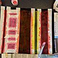 Diy : pochette multicolore
