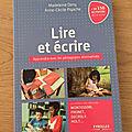 J'ai lu Lire et <b>écrire</b> de Madeleine Deny et Anne-Cécile Pigache (Editions Eyrolles)