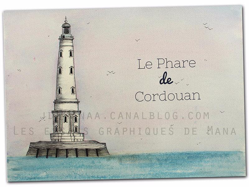 Paysage marin : Le phare de Cordouan