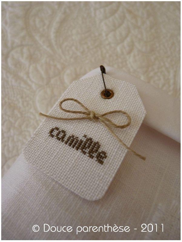 Etiquette Camille