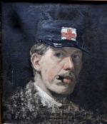 autoportrait - siège de Paris 1870-1871 (1871)