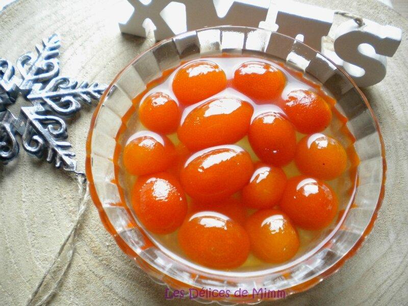 Kumquats confits - 🎄 Calendrier de l'avent 2015 #9