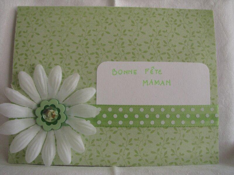 carte fête des mères 2010