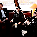 <b>proXima</b> in a boat on the Seine (Paris) during a French TV interview
