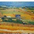 La plaine de Crau Van Gogh