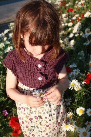 Robe caresse -Violette