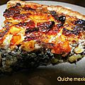 Quiche mexicaine