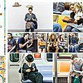 Dans le métro de new york...
