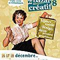 Des tipouns pour noël ..... a big bazar créatif les 16, 17, 18 décembre 2011