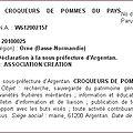 Crocpom ou les Croqueurs de Pommes du Pays d'Argentan