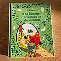 Nous avons découvert Dix histoires d'animaux de dix minutes (<b>Editions</b> <b>Usborne</b>)