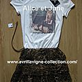 Robe non officielle Abbey Dawn/Repeat After Me-magasins Tati