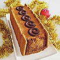 Bûche chocolat spéculos (sans cuisson)