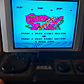 Fantasy Zone version <b>Master</b> <b>System</b>