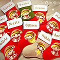Les chaussettes personnalisées pour un <b>Noël</b> magique et enchanté !