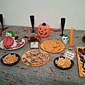 Repas halloween, quelques photos...