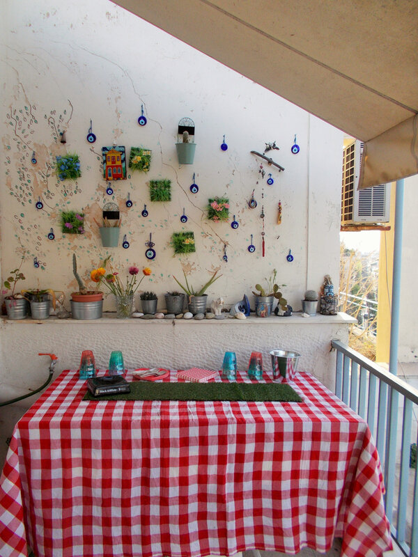 table pique nique terrasse