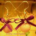 boucles noeud violet