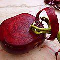 18 aout - des betteraves rouges toute l'année