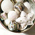 boîte de décoration Noël neigeux - Marimerveille