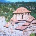 Monastère à Mystra (Grèce)