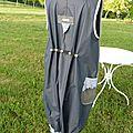 2013 adulte, MARINETTE B, gris acier, élastiquée
