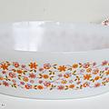 Vaisselle vintage ... plat ovale arcopal * modèle scania