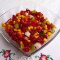 Salade de pâtes psychédéliques : une idée pour recycler l'eau de cuisson des betteraves
