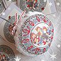 Marimerveille boule chant de Noël