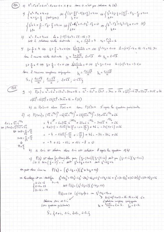 complexes 1