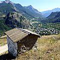 Chapelle et oratoires de ratière - (saint martin de queyrières) - pays des ecrins