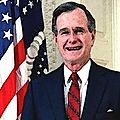 <b>George</b> HW <b>Bush</b>, l'anti-Trump