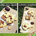 Cookies choco caramel & cacahuètes caramélisées