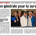 Visite de la Sous-Préfète de Forcalquier, demain matin à Saint-Auban..... Quel <b>avenir</b> pour le Centre ville de Saint-Auban ????