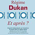 Régime dukan.... et après ? ? : l'enquête