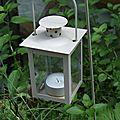 Des lanternes et des petites idées pour embellir votre jardin... et une petite visite de mon jardin zen...