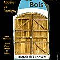 Exposition photo à <b>l</b>'abbaye de <b>Pontigny</b> (89)